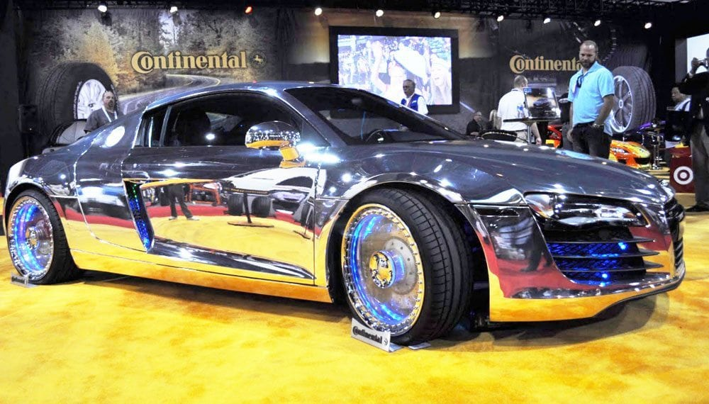 west coast customs cosmichrome spray chrome paint guaranteed not to turn yellow. Black Bedroom Furniture Sets. Home Design Ideas
